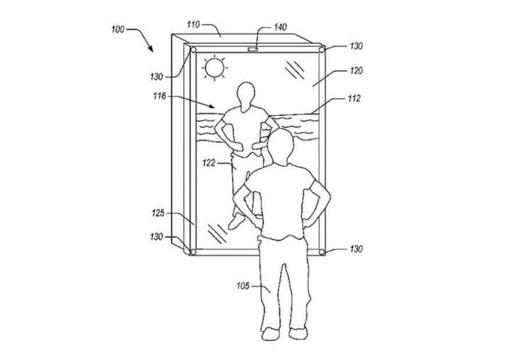 Amazon miroir réalité augmentée