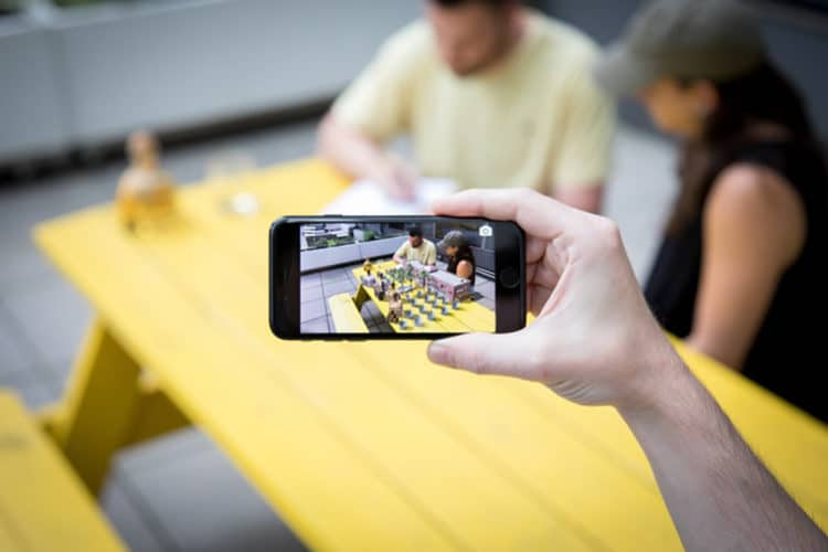 Ar marques alcool marketing réalité augmentée