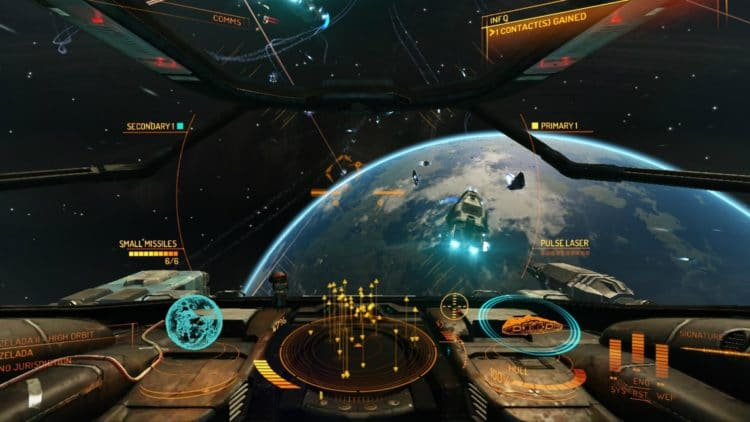 elite dangerous gameplay