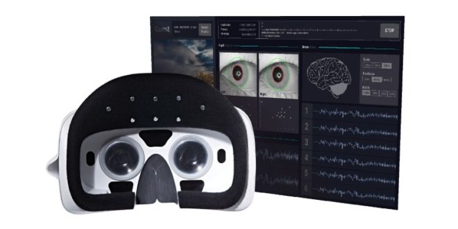 looxidvr casque vr ondes cerebrales ces 2018 médecine