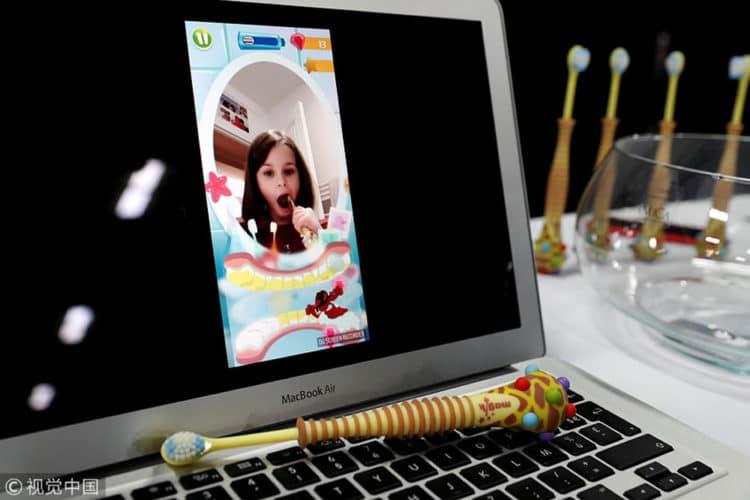 Magik brosse à dents réalité augmentée