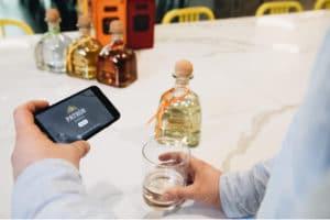 Marques alcool marketing en réalité augmentée