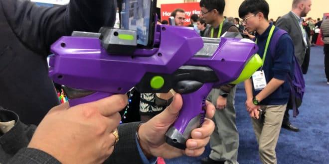 Merge Laser Tag CES 2018
