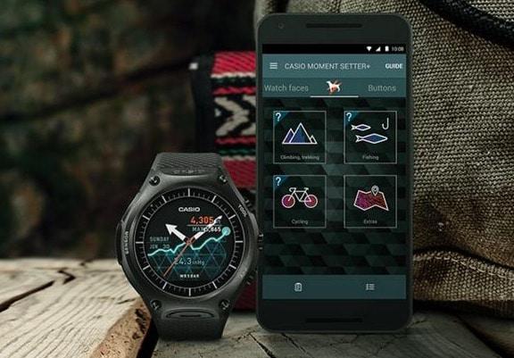 smartwatch, montre connectée, Casio G-Shock Rangeman GPR B-1000