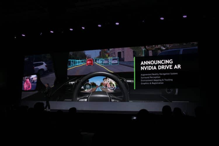 nvidia drive ar fonctionnalités