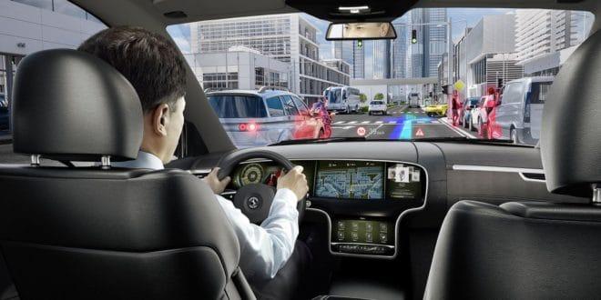 nvidia drive ar ces 2018 réalité augmentée voiture