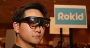 Rokid lunettes réalité augmentée prototype CES 2018