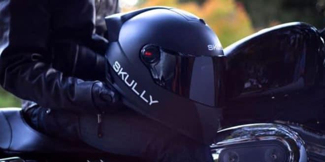 Skully casque réalité augmentée motards