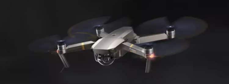 Drone DJI Mavic Pro en vole