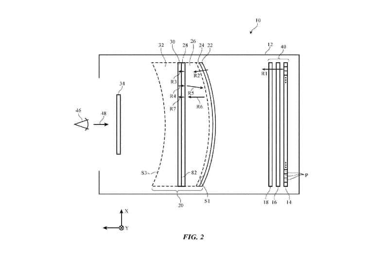 apple ar brevet écran