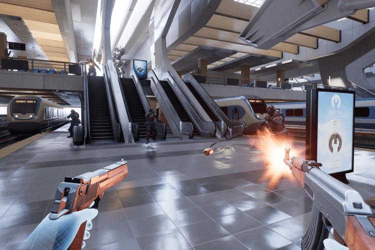 Bullet Train VR