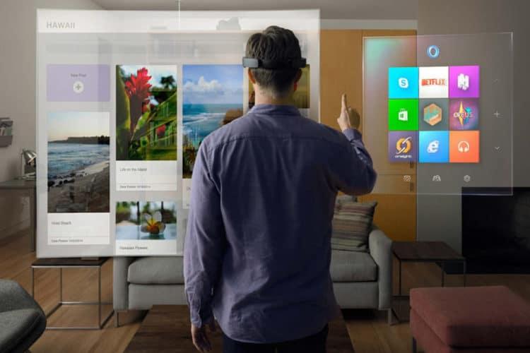 Bureautique réalité virtuelle