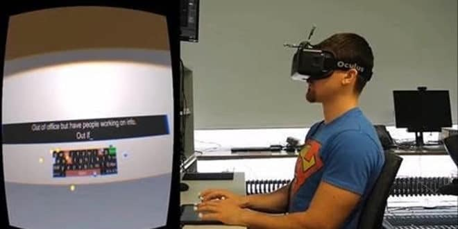 Bureautique VR bureau virtuel