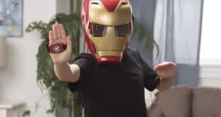 Casque Iron Man réalité augmentée