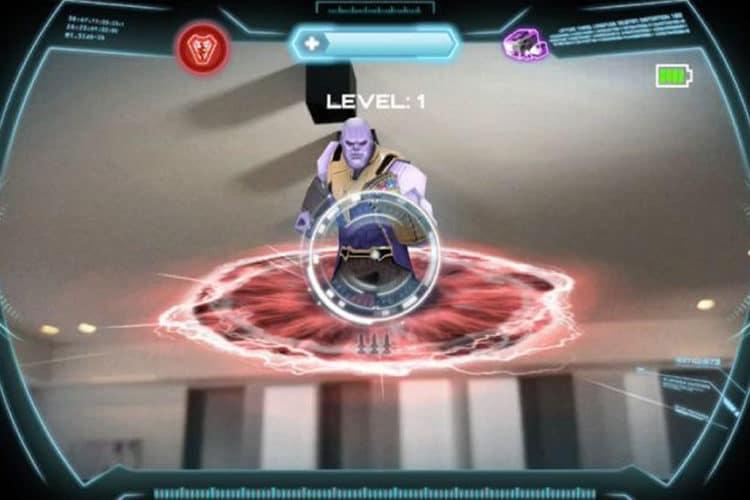 Casque Iron Man réalité augmentée Marvel