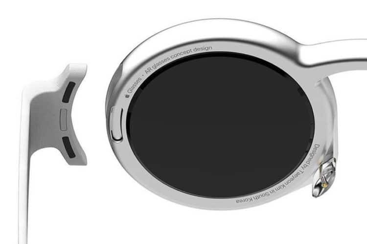 Concept lunettes réalité augmentée Apple
