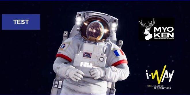 Couverture expérience VR ISS RESCUE