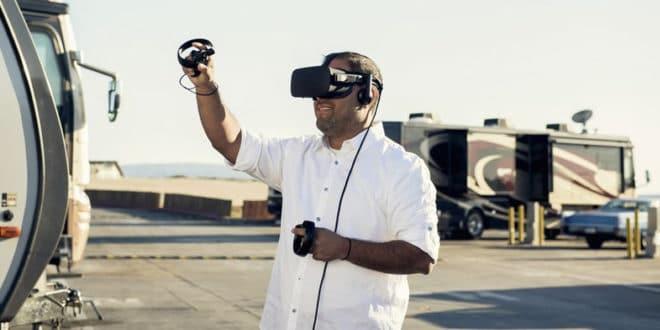DJ Soto pasteur réalité virtuelle