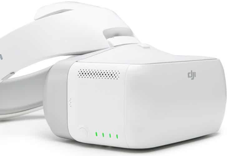 dji goggles casque realite virtuelle pour drones