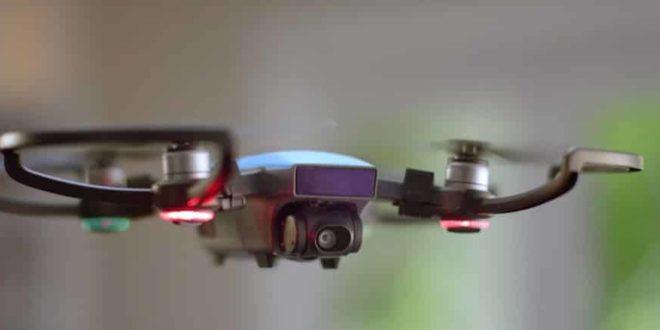 drone dji spark vert
