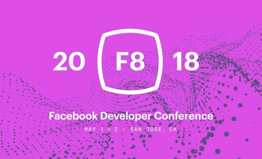 facebook F8 2018 conférence