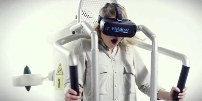 Flyview jetpack réalité virtuelle Paris