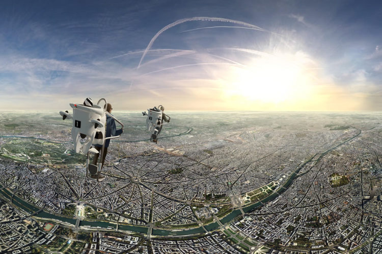 Flyview jetpack VR Paris
