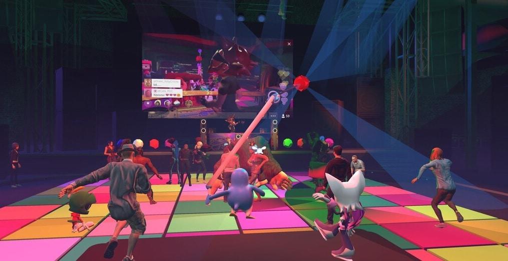 high fidelity boîte de nuit danse vr réalité virtuelle