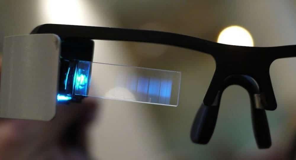 Intel lunettes de réalité augmentée 2018