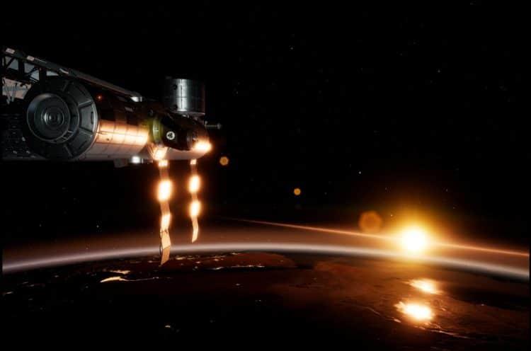 Levé de soleil dans ISS Rescue