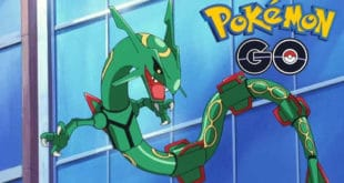 Légendaire Rayquaza Pokémon GO