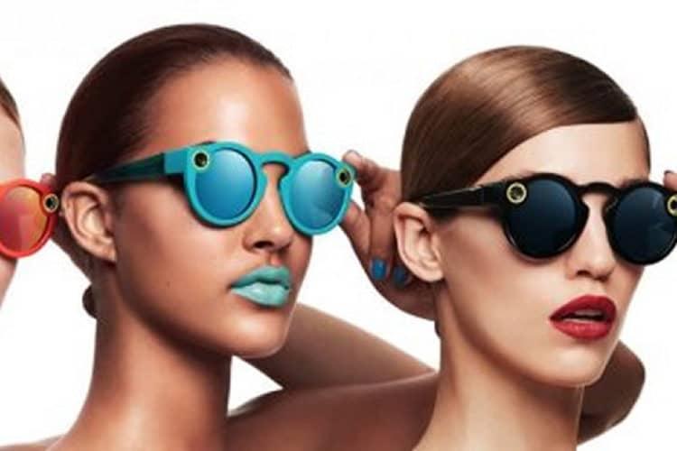 Lunettes connectées Snapchat Spectacles