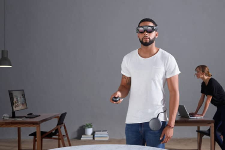 Lunettes de réalité augmentée Magic Leap One
