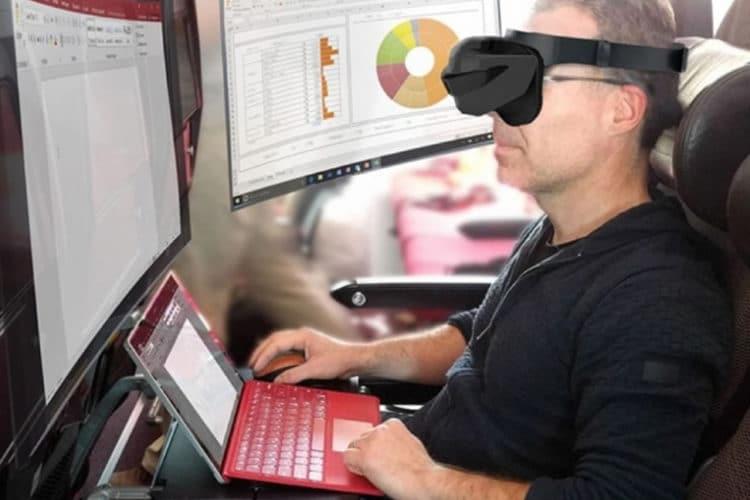 Microsoft bureautique réalité virtuelle VR