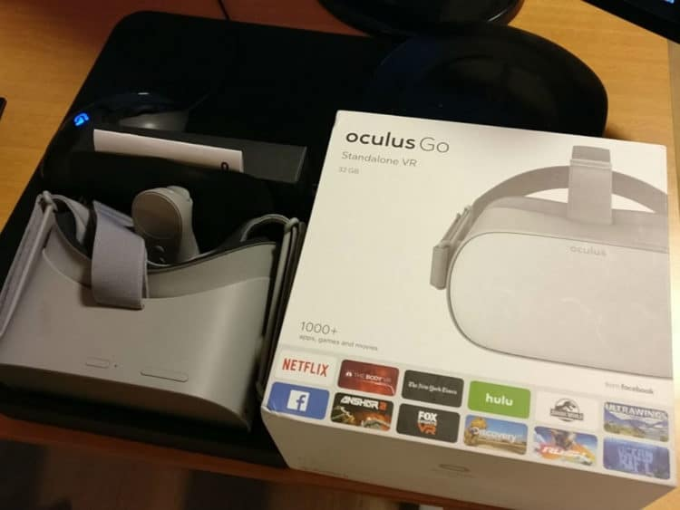 oculus go emballage packaging jeux applications compatibles