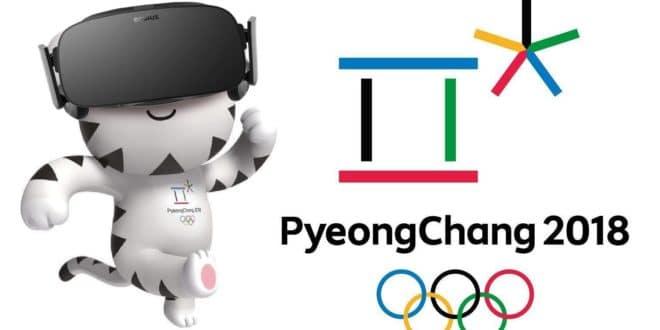 pyeongchang 2018 jeux olympiques d'hiver vr eurosport nbc réalité virtuelle