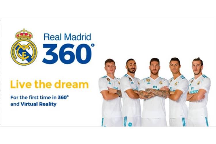 Real Madrid vidéos 360 degrés réalité virtuelle