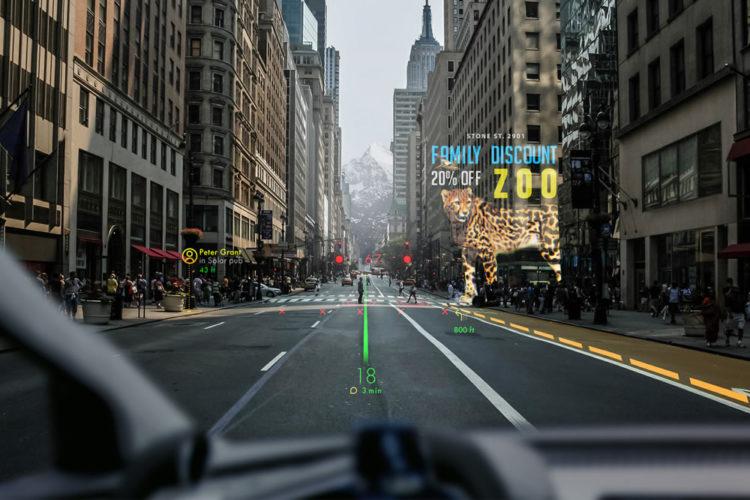 Réalité augmentée automobiles voiture