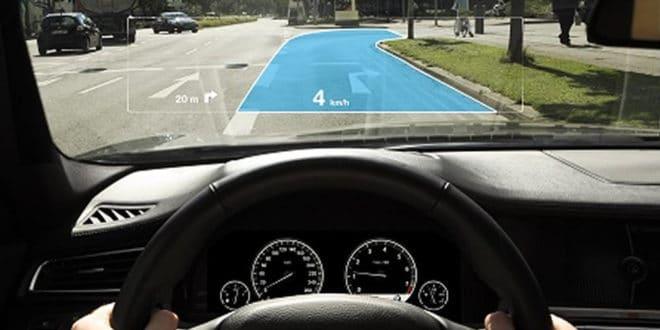 Réalité augmentée conduite