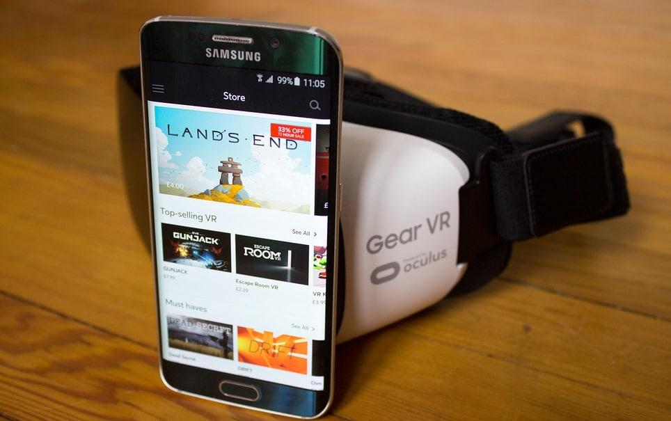 samsung gear vr application oculus