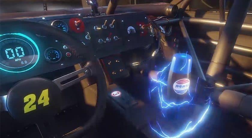 super bowl 2018 pepsi google retour vers le futur VR
