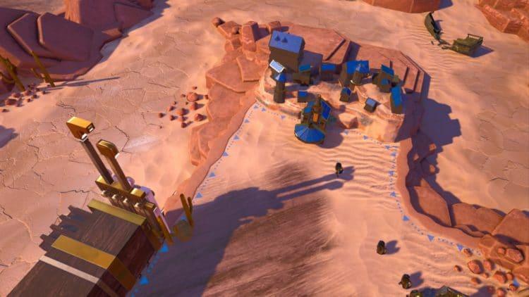 Un village allié dans Bras Tactics