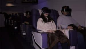 Vol virtuel réalité virtuelle First Airlines