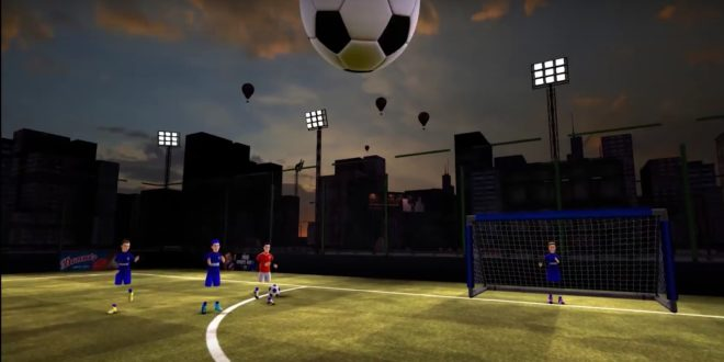 vrfc virtual reality football club réalité virtuelle rift vive psvr