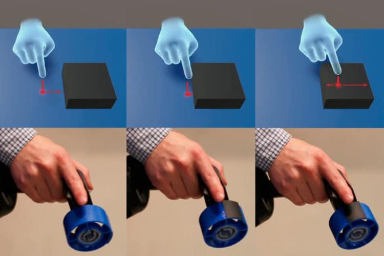Accessoires Microsoft toucher VR