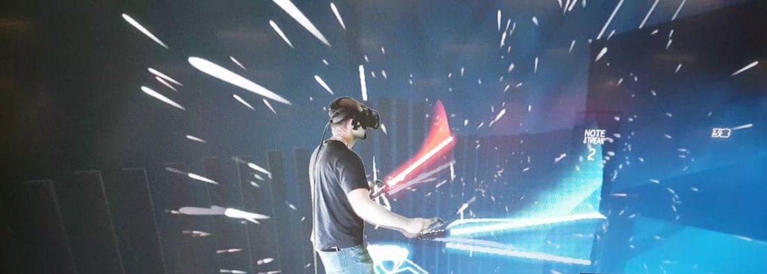 Star Wars VR Beat Saber