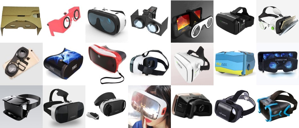 casques vr mobiles