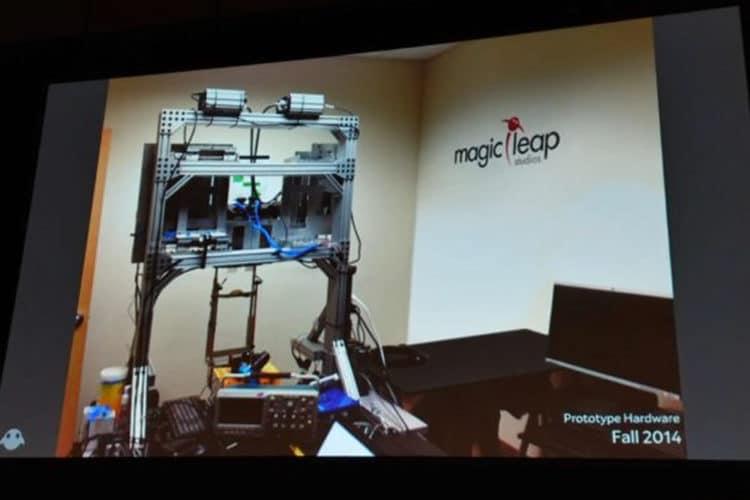 Evolution des prototypes Magic Leap