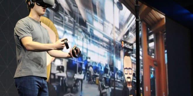 Facebook réalité virtuelle