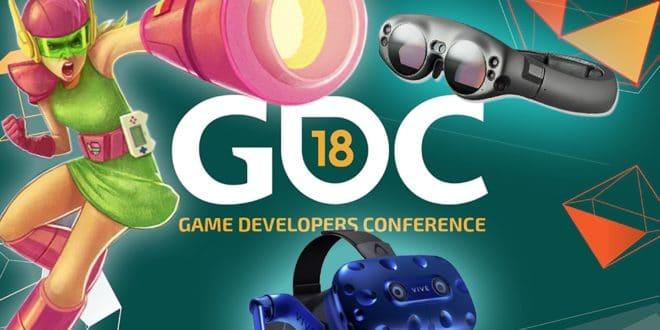 gdc 2018 VR AR réalité virtuelle augmentée